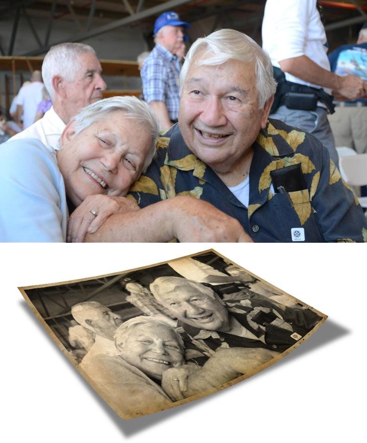 Grandpa and Grandma-old photo