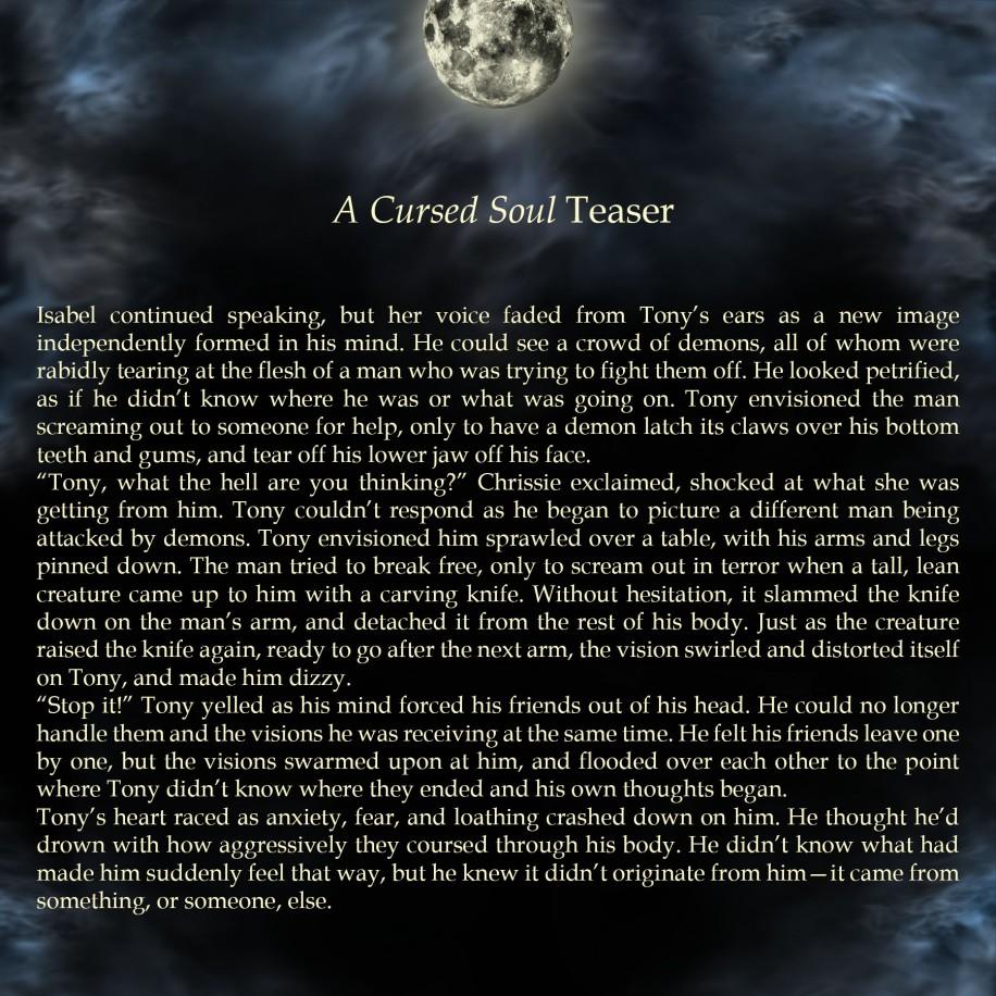 Teaser 2 for A Cursed Soul